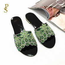Flat shoes for women Daily slippers for ladies Shoes with low heels and drills