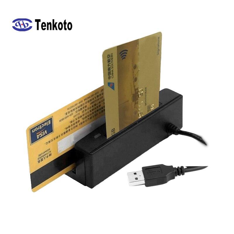USB Smart Card Reader Für Magnetische IC/ID EMV Alle In Einem MSR Nur Lesen Kontaktieren Chip Schriftsteller Keine software
