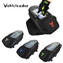 Impermeabile Universale Magnetica Moto Moto Oil Fuel Tank Bag di Navigazione Moto Tasca Sacchetto Della Sella Della Bici Pit Bike Scooter