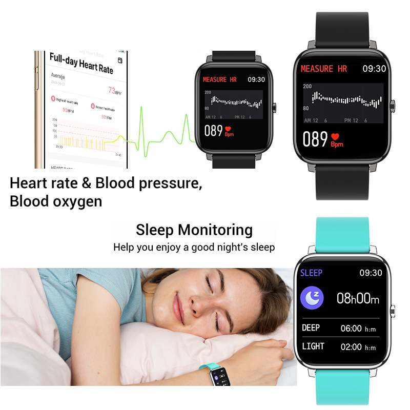 lowest price Full Touch Smart Watch Women Men Smartwatch Electronics Smart Clock For Android IOS Fitness Tracker Sport Bluetooth Smart-watch
