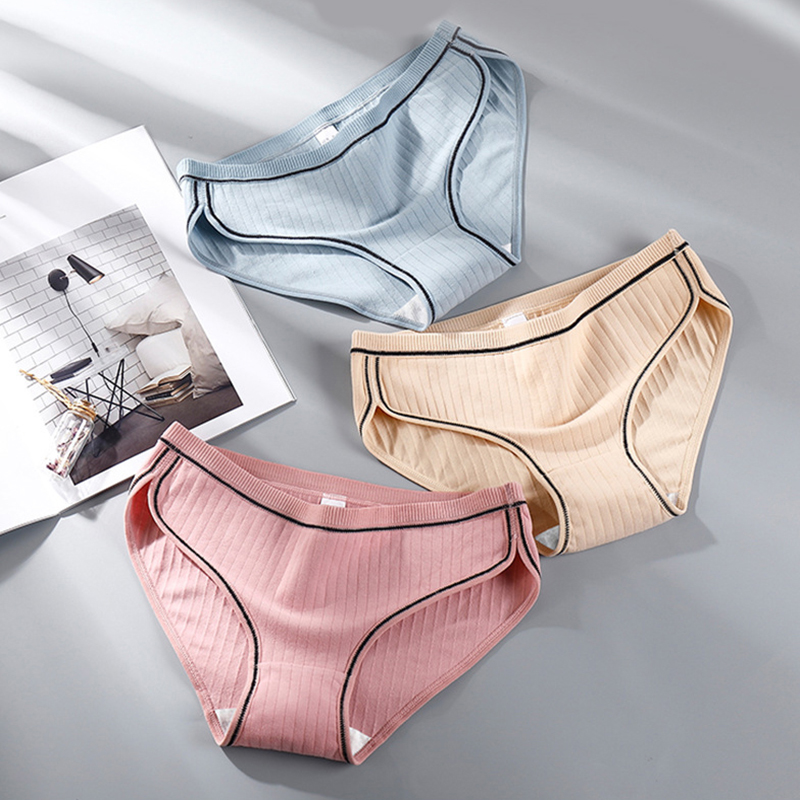 NEW 2020 Women's Panties Cotton Super Elastic Ladies Underwear Mid Waist Underpants Breathable Briefs lingerie Oversize Panties