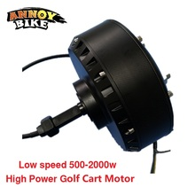 цена на Low Speed 500-2000W Brushless DC High Power Single Side Wheel Hub Motor Golf Cart Motor
