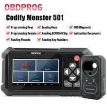 OBDPROG 501 OBD2 Auto Key Programming Remote Master Tools OBDII EOBD Diagnosis EEPROM Chip Pincode Reading Car Diagnostic Tools