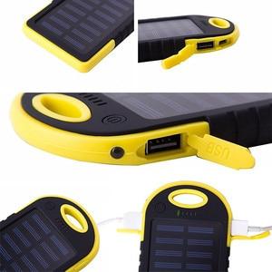 Image 2 - Năng Lượng Mặt Trời 10000 MAh Power Bank Chống Thấm Nước Năng Lượng Mặt Trời Sạc Dual USB Bên Ngoài Sạc Dự Phòng Powerbank Cho Xiaomi Huawei Iphone 7 8 Samsung