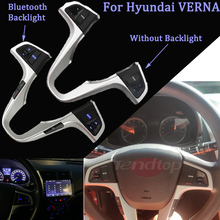 For Hyundai VERNA SOLARIS Multifunction Steering Wheel Bluetooth Fixed Voice Control Button Audio Switch Car Accessories
