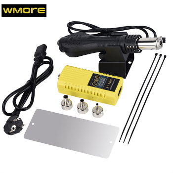 цена на WMORE Micro hot air gun 8858 BGA rework soldering station 700W 220V Heat gun Hot Air Blower Stable Ceramic Heater solder station