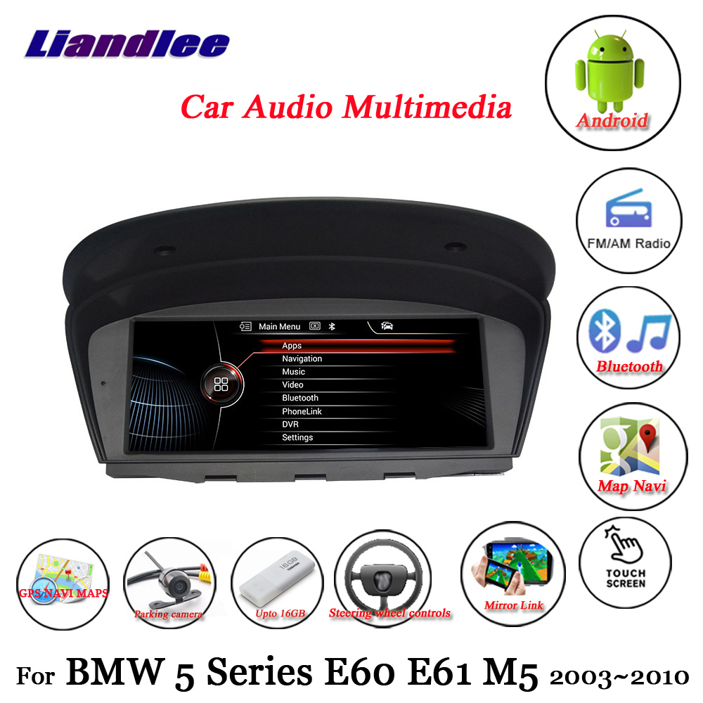 For BMW 5 Series E60/E61/M5 2003-2010 Car Android 10.0 Player Multimedia Stereo System Carplay Androidauto GPS Navigation