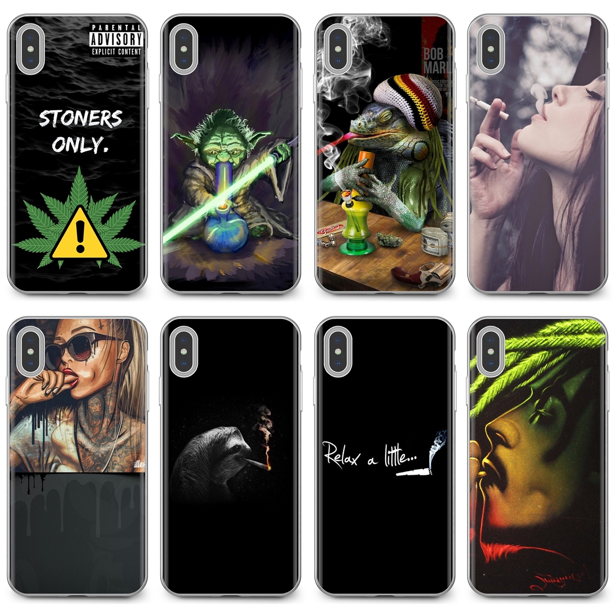 Beautiful Silicone Phone Case Weed Girl Wallpapers For Iphone 11 Pro 4 4s 5 5s Se 5c 6 6s 7 8 X 10 Xr Xs Plus Max For Ipod Touch Phone Case Covers Aliexpress
