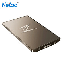 Original Netac SSD 128GB 256GB 512GB External Hard Drive USB 3.1 High Speed Solid State Drive for Laptop PC(China)