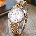 PARNIS Casual Sport Uhren für Männer Weiß Top Marke Luxus Military jubilee Armbanduhr Mann Uhr Mode Automatische Armbanduhr