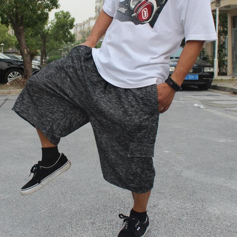 Loose Baggy Summer Shorts Men Casual Camouflace Elastic Waist Shorts Hip Hop Harem Boardshorts Male Clothes 5XL 6XL