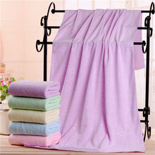 Bath-Towel for Child Moisture-Absorbing Breathable Soft Quick-Drying Cartoon Bear Toiletries