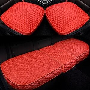 Image 5 - רכב קדמי אחורי מושב מכסה מכונית מושב המכונית כרית מושב כריות אוטומטי פנים רכב משאית Suv ואן מושב כיסוי מכונית מחצלת כיסוי