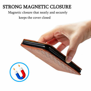 Image 2 - Leather Texture Magnet Book Shell for Vivo Y20 2020 Luxury Case Vivo Y20S Y20i Y 20 S 20S Y11S Y12S Flip Cover Funda Shockproof