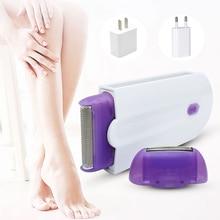 2 in 1 Electric Epilator Women Hair Removal Painless Women H