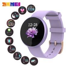 SKMEI Women Smart Watch Heart Rate Period Reminder Sport Fitness Female Smartwatch Ladies Wristwatch Relogio Feminino inteligent B36