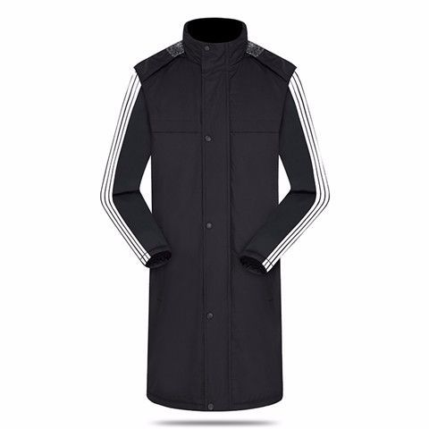 1718 Windproof Waterproof Long Version MEN'S Coat Chinese Team Uniform Receive Award Coat High Students Outdoor Athletic Clothin