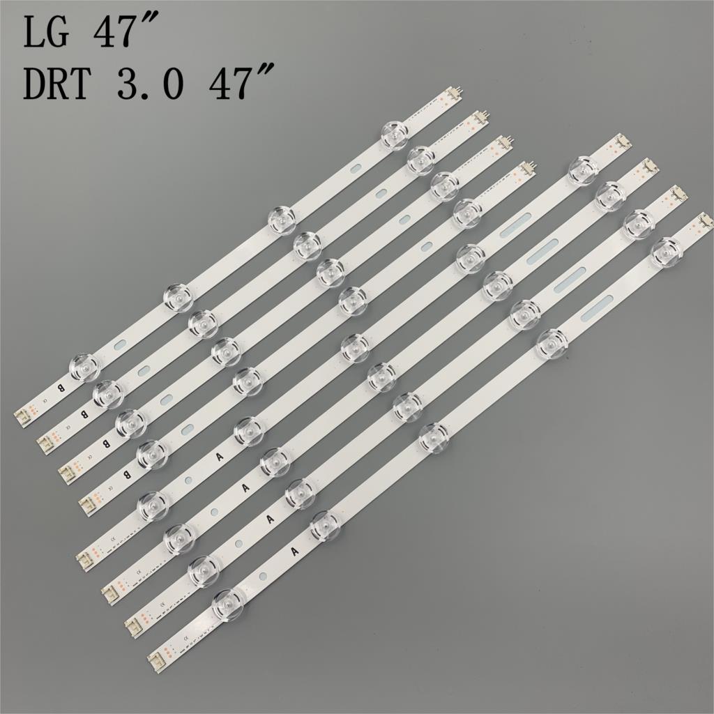 LED Backlight Lamp strip 9leds For LG  47 inch TV innotek DRT 3 0 47inch A B type 47LB6300 47GB6500 47lb653v 6916L 1948A 1949A