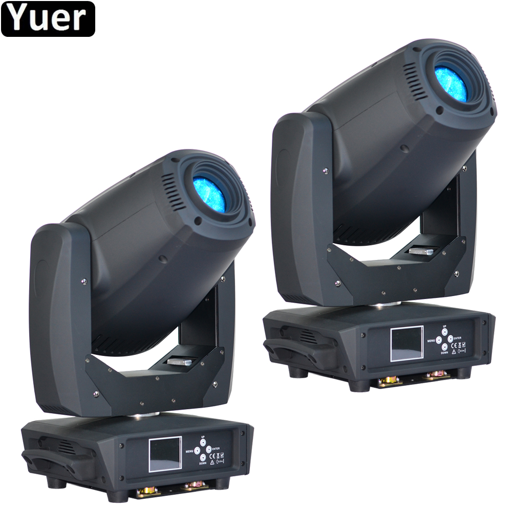 2Pcs/Lot 260W LED Spot Beam Wash 3IN1 Moving Head Light 2 Facet Prism Rotation Six Prism LED Moving Head DJ Disco Stage Light