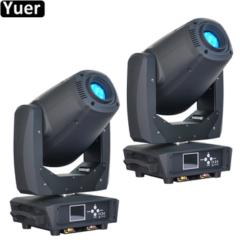 2Pcs/Lot 260W LED Spot Beam Wash 3IN1 Moving Head Light 2 Facet Prism Rotation six prism LED Moving Head DJ Disco Stage Light new stage light 260w led spot zoom moving head light 6 18 dmx channels beam spot wash 3in1 led strong light for party disco dj