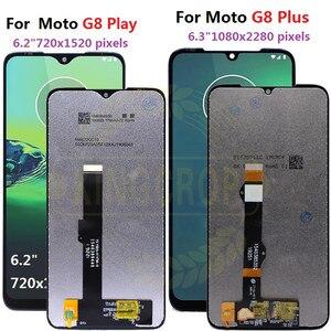 Image 2 - Pour moto un macro g8 play G8 plus G8 puissance écran LCD écran tactile XT2019 xt2015 Digiziter assemblée pour Motorola G8Play G8plus