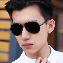 Популярные Модные авиационные солнцезащитные очки для мужчин