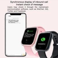 I5 New Waterproof Smart Watch Women Bluetooth Smartwatch For Apple IPhone Xiaomi Heart Rate Monitor Fitness Tracker PK  P70 P68 2