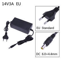 ALLOET 14V 3A AC כדי DC כוח מתאם ממיר 6.0*4.4mm עבור Samsung LCD צג תקע חשמל אספקת מתאם