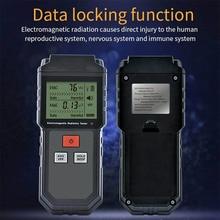Digital LCD EMF Meter Electromagnetic Radiation Tester Detector 5G WiFi