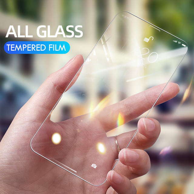 10D 3Pcs Tempered Glass On The For iPhone 7 8 6 6s Plus 5S SE Screen Protector For iPhone X XS XR 11 12 Pro Max Protective Glass 4