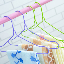 28cm childrens hangers Laundry drying clothes/drying clothes Wire dip hanging 10 pcs/group