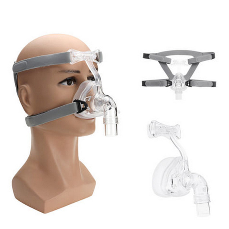 NM2 CPAP Nasal Mask with Headgear and Head Suitable For CPAP Machine and Oxygenator 1
