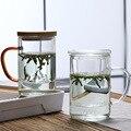 Стеклянная чайная кружка в китайском стиле с крышкой и фильтром, кофейные чашки, чайный набор, кружки, Офисная кружка для пива и напитков, пр...