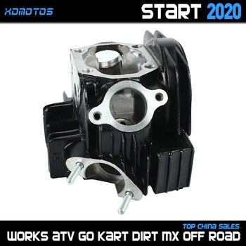 Culata de motocicleta para orificio de 52,4mm lifan LF 125cc lf125, motores de arranque Horizontal, Dirt Pit Bikes Atv Quad partes