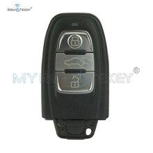 цена на Remtekey remote smart key 3 button 868Mhz for Audi 8T0959754C A3 A4 A6 A5 A8 Q5 Q7 car remote key