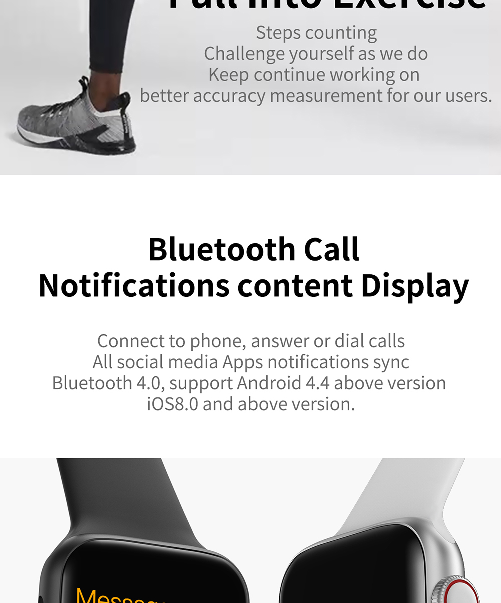 bluetooth watches for men and women