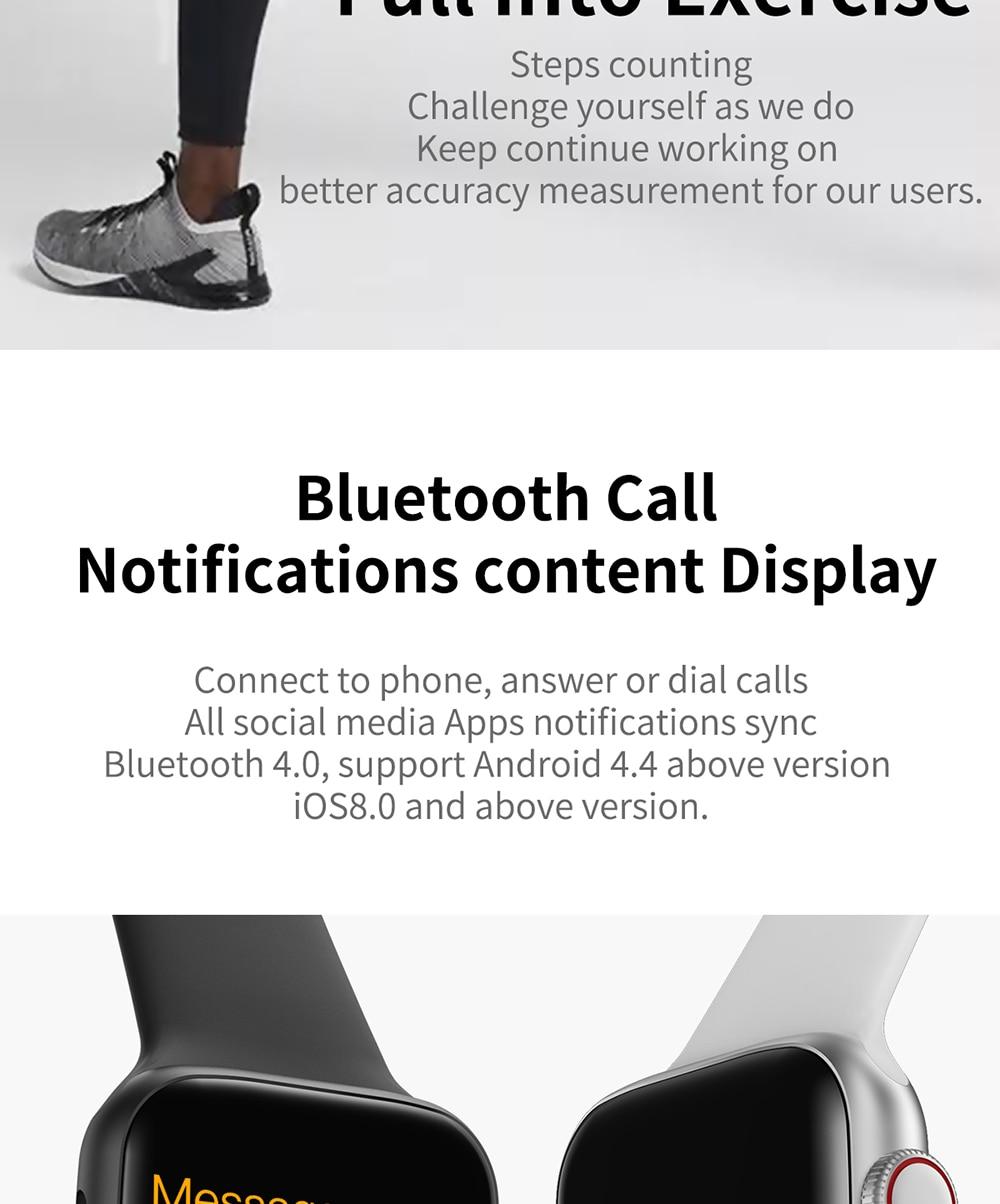 COXANG iwo 8 Lite/ecg ppg smart watch men Heart Rate iwo 9 smartwatch iwo 8 /iwo 10 Smart Watch for women/men 2019 for Apple IOS