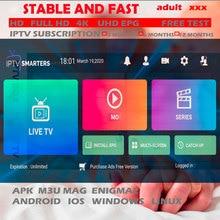 3/6 เดือน 1 ปีAbonnement IPTVเนเธอร์แลนด์โปแลนด์ยุโรปHot xxxสำหรับสมาร์ทโฟนH96 X96 10 Android TV Box IPTVสมาร์ททีวีStalker