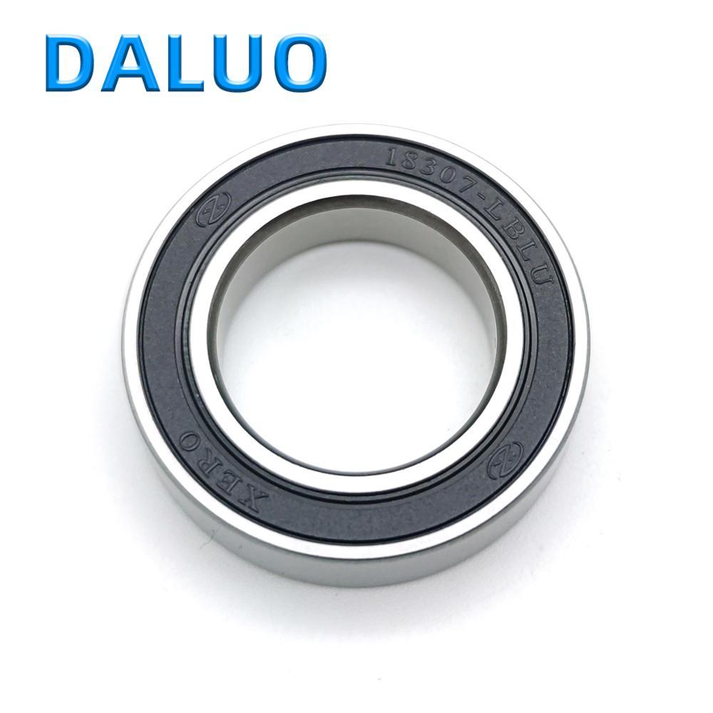 1PCS DALUO 18307-LBLU 18X30X7 18307 18307-2RS 6903/18 MR18307 18307RS ABEC-3 Single Row Deep Groove Ball Bearings