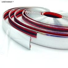 Универсальная хромированная лента gzriverrun 25 мм x 5 м для