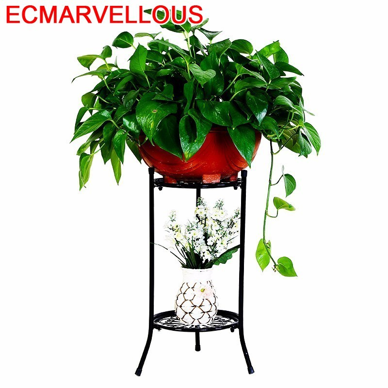 Sera Support Plante Decoration Exterieur Salincagi Dekorasyon Outdoor Decor Metal Balkon Flower Shelf Stand Balcon Plant Rack