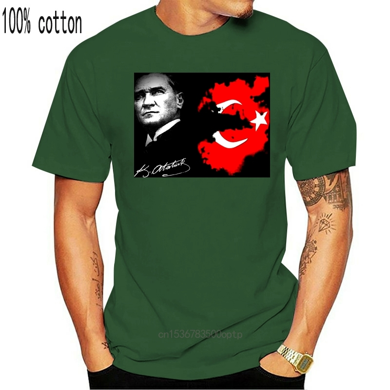 Mustafa Kemal Atatürk Türkei Türkiye Turkey T-Shirt All Sizes