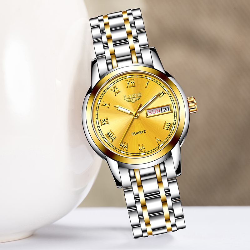 New Women Watches LIGE Top Luxury Brand Lady Fashion Casual Simple Full Steel Wristwatch Gift for Girls 2019 Relogio Feminino