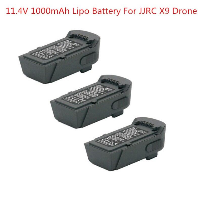 Batería Lipo de 11,4 V 1000mAh y nombre del artículo de la hoja de la Hélice para JJRC X9 GPS 5G sin escobillas RC Quadcopter accesorios de piezas de repuesto para Dron