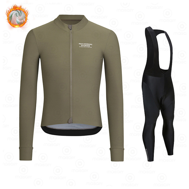 New Winter Fleece 2021 PNS Pro Man Cycling Jersey Mountian Bicycle Clothes Wear Ropa Ciclismo Racing Bike Clothing Cycling suit 1