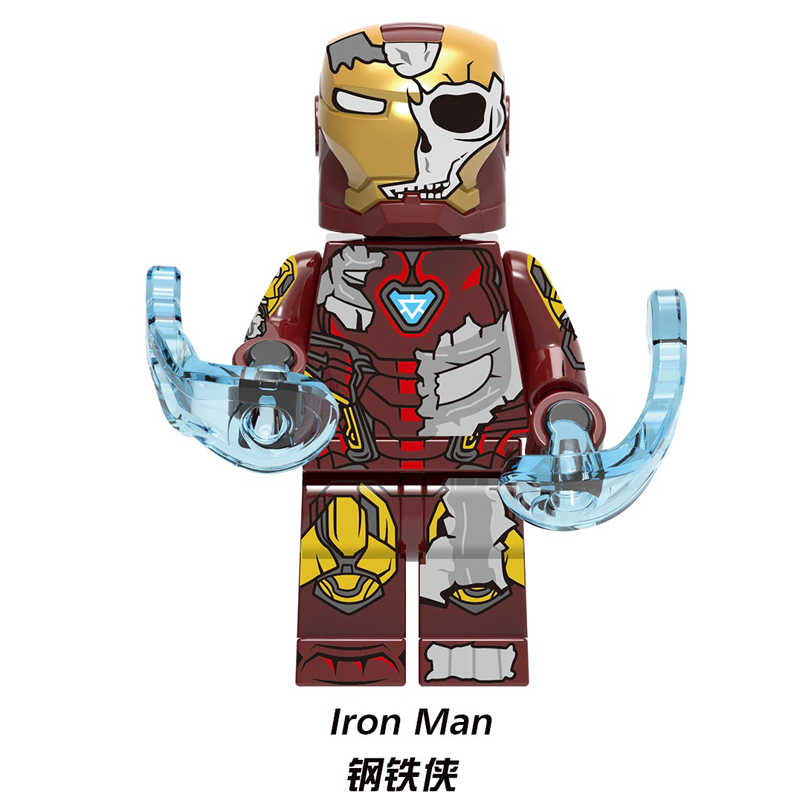 Feuer Element Spider-Man 2 Bausteine Figuren Weit Von Zu Hause Eidechse Wind element Mysterio Iron Man Spielzeug Kinder geschenke Xh1346