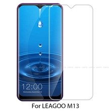 For Leagoo Power 2 Scratch Proof Screen Protector Phone Film For M5 M11 M13 M8 M9 Pro Leagoo 9H Hardness Clear Tempered Glass(China)