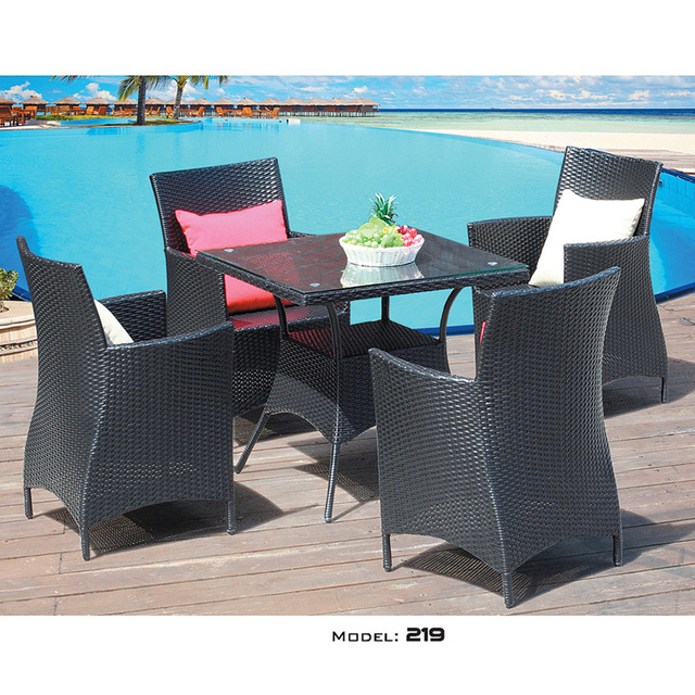 Balcony Table and Chair Combination 1