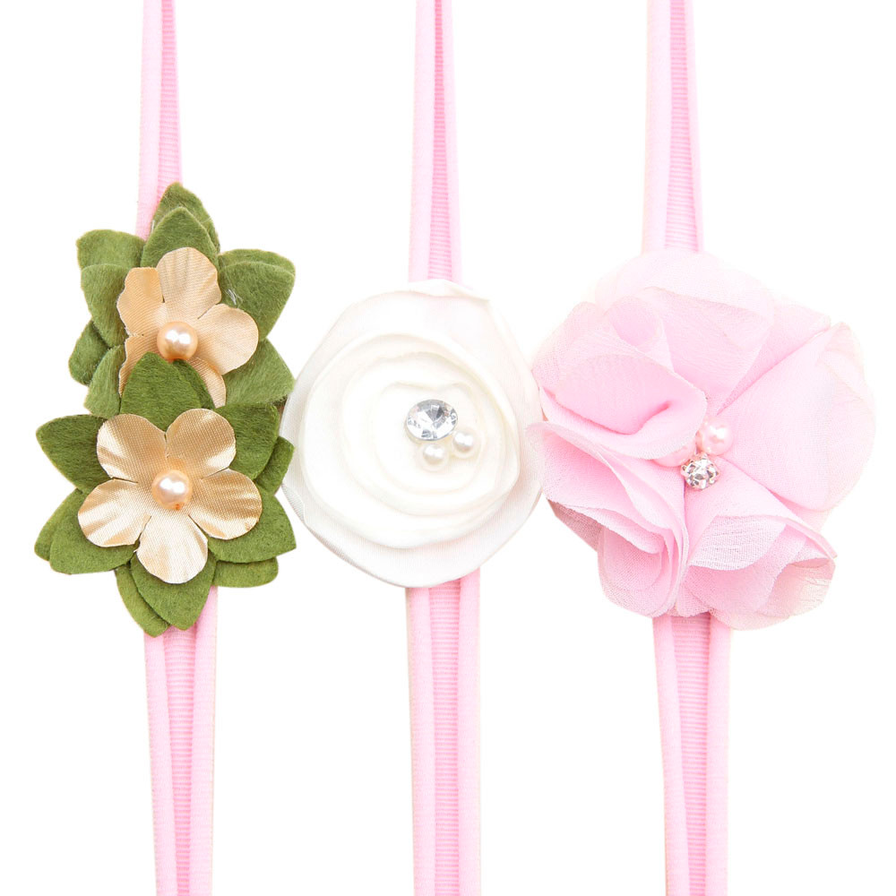 Newborn Toddler Baby Girls Head Wrap Knot Kids Girl Baby Toddler Flower Hair Gift Headwear For Infant Headband Hair Accessories