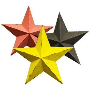 Iron Five-Pointed Star Wall-mo